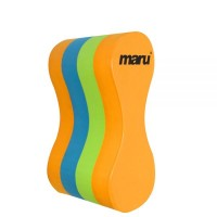 Maru Pullbuoy - Lime / Orange / Turquoise