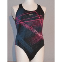 Speedo Badeanzug Aqua Sprint Placement Splashback