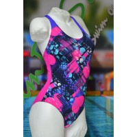 Speedo Badeanzug Allover Splashback Print 1