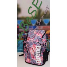 arena Team 45 Backpack - mosaic palm blue pink