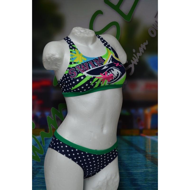 Arena Swimkini Ocean jr. two pieces